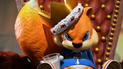 Conker: Conker's Bad Fur Day - F4F Presents: Conker Statue Trailer