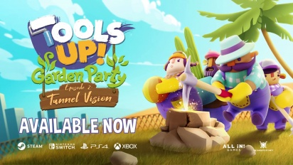 Tools Up! Garden Party - Tunnel Vision Official Trailer