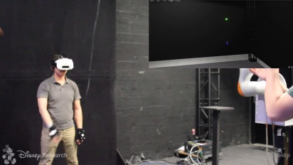 Disney Tech - Catching a Real Ball in Virtual Reality