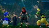 Kingdom Hearts III - Video-anteprima con gameplay