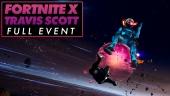 Fortnite X Travis Scott - Evento completo