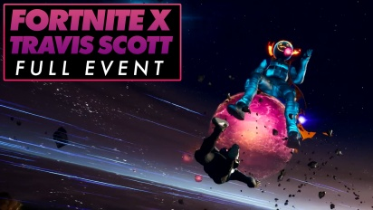 Fortnite X Travis Scott - Evento completo