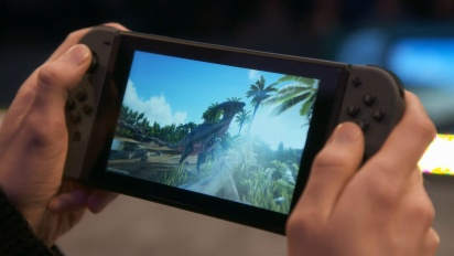ARK: Survival Evolved - Nintendo Switch Gameplay