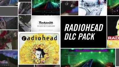 Rocksmith 2014  - Radiohead DLC Pack Trailer