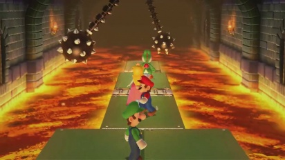 Mario Party 10 - Spiked Ball Scramble Minigame