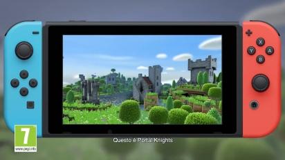 Portal Knights - Trailer Pre-order per Nintendo Switch