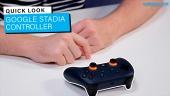 Google Stadia Controller - Quick Look