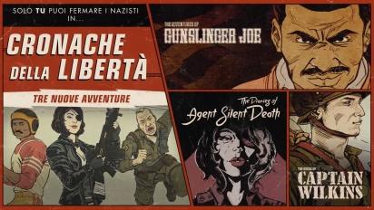 Wolfenstein II: I diari dell'agente Morte Silenziosa - Trailer di lancio