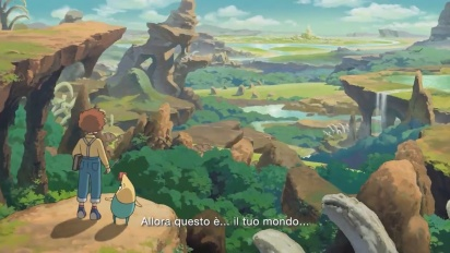 Ni no Kuni: Wrath of the White Witch Remastered - E3 2019 Trailer (Italiano)