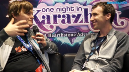 Hearthstone: Una notte a Karazhan - Intervista a Peter Whalen