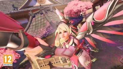 Overwatch: Campagna Mercy Rosa - Grazie Eroi!