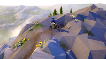 Lonely Mountains: Downhill - Announcement Trailer