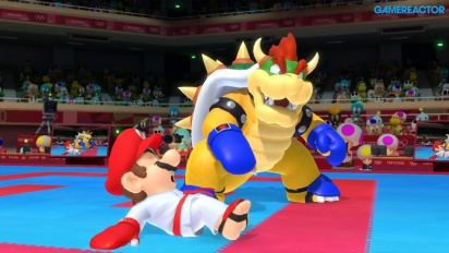 Mario & Sonic at the Olympic Games Tokyo 2020 - Karate-Kumite Gameplay