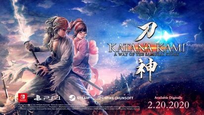 Katana Kami: A Way of the Samurai Story - Announcement Trailer