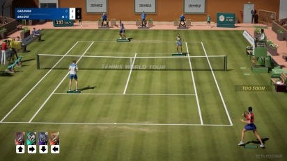 Tennis World Tour 2 - Gameplay Reveal
