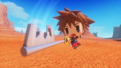 World of Final Fantasy - Sora DLC - Japanese trailer