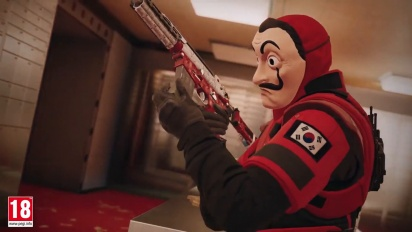Rainbow Six: Siege - Evento a tempo limitato La Casa di Carta Trailer