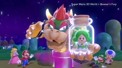 Super Mario 3D World + Bowser's Fury - Nuovo trailer