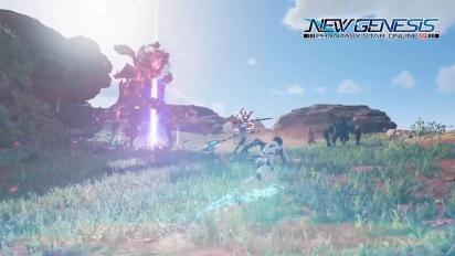 [4K] PSO2 New Genesis Intro Movie