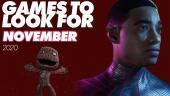 Giochi da tenere d'occhio - Novembre 2020