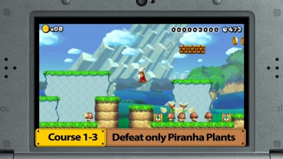 Super Mario Maker for Nintendo 3DS – Medal Challenges trailer