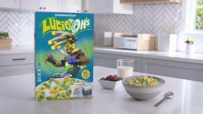 Overwatch - Lúcio-Oh's Kellogg's Cereal