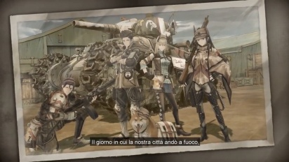 Valkyria Chronicles 4 - Squadra E a rapporto Trailer (italiano)