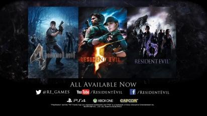 Resident Evil 4,5,6 - Modern Hits Trailer