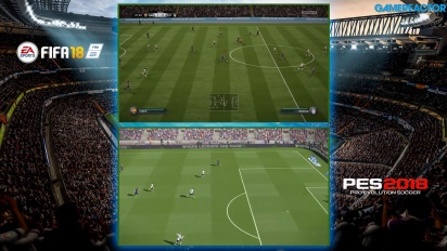 FIFA 18 vs. PES 2018 - Il confronto