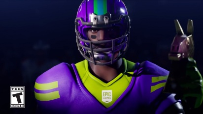 Fortnite - Fortnite X NFL Trailer