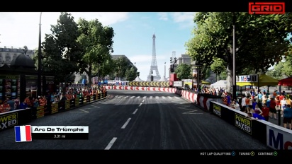 Grid - Season 1 Showcase: New Cars and Paris Circuit