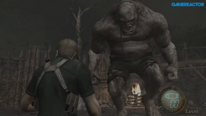 Resident Evil 4 HD - Boss Fight El Gigante Gameplay
