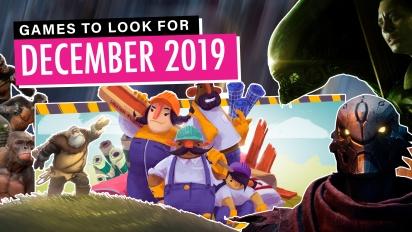 Giochi da tenere d'occhio - Dicembre 2019