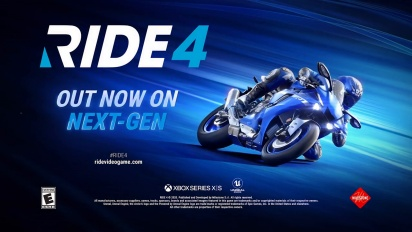 Ride 4 - Launch Next-Gen Trailer