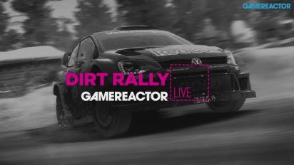 Dirt Rally con il volante racing di Logitech - Replica Livestream