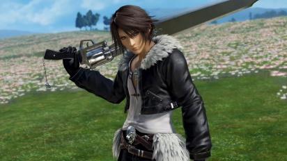 Dissidia Final Fantasy NT - Squall Leonhart Trailer