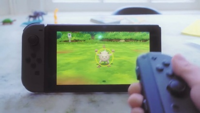 Pokémon Let's Go - Trailer di annuncio