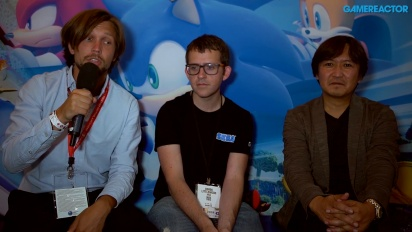 Team Sonic Racing - Derek Littlewood & Takashi Iizuka Interview
