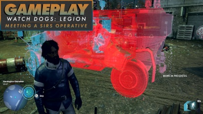Watch Dogs: Legion - Meeting a SIRS Operative Gameplay