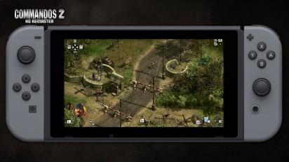 Commandos 2 - HD Remaster - Nintendo Switch Release Date Trailer (italiano)