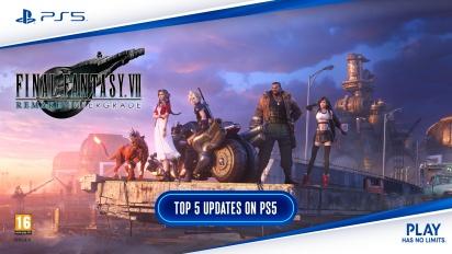 Final Fantasy VII: Remake Intergrade - Top 5 Updates on PS5