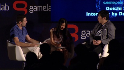 Gamelab 2015 - Suda51: Grass-Hopping from Punk to Business