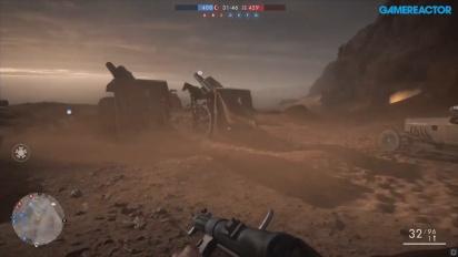 Battlefield 1 - Gameplay multiplayer su PC (Seahawk 1080)