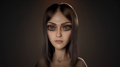 Alice: Asylum - Alice - 3D Model Head & Body Turntable