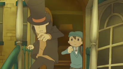 Professor Layton and the Unwound Future - US Trailer
