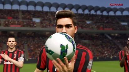Pro Evolution Soccer 2018 - PES 2018 AC Milan Partnership Trailer