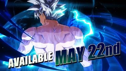 Dragon Ball FighterZ - Goku Ultra Instinct Release Date Trailer