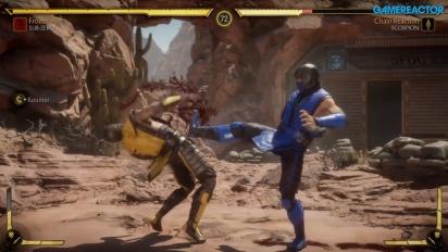 Mortal Kombat 11 - Sub-Zero, Scorpion, e Sonya Gameplay
