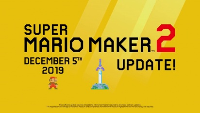 Super Mario Maker 2 - The Master Sword, new course parts and more!