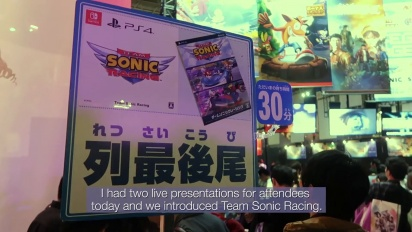 Team Sonic Racing - Tokyo Game Show Dev Diary